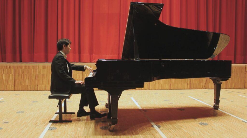 Berwerbungsvideos Klavierspiel